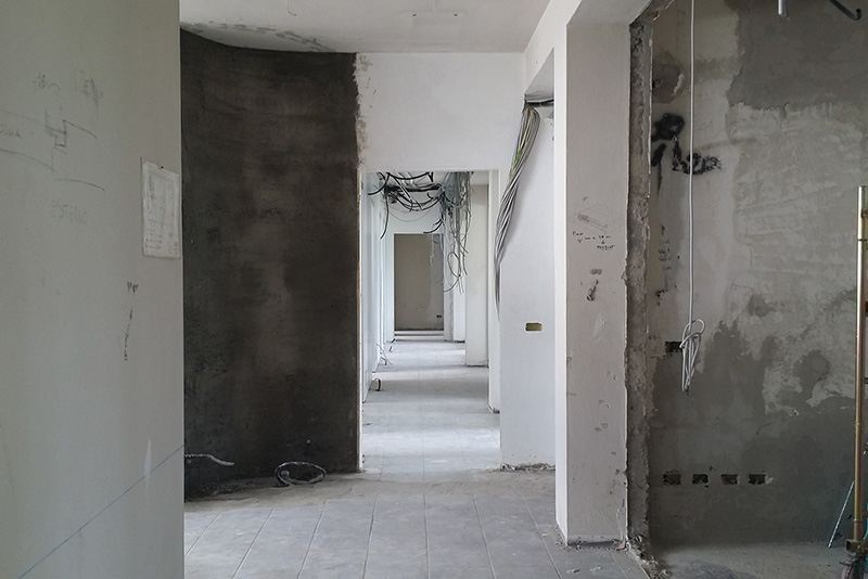 Renovierung-Innen
