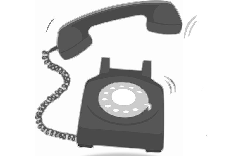 Wutz-Bau-Telefonanruf